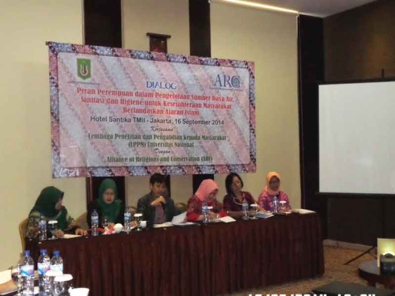 LPPM UNAS – ARC Jajaki Pembentukan Jaringan Muslimah Peduli Air dan Sanitasi